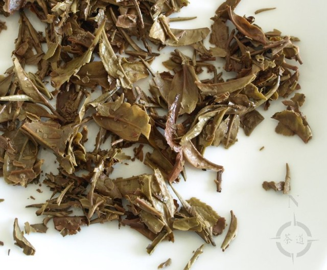 Nepal Himalayan Flowery - used leaf