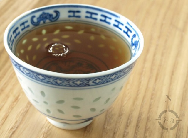 2005 aged Nantou Oolong - a cup of