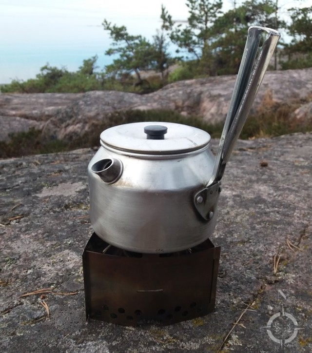 Summer 2018 - Trangia burner and kettle