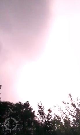 kreftfest thunder storm