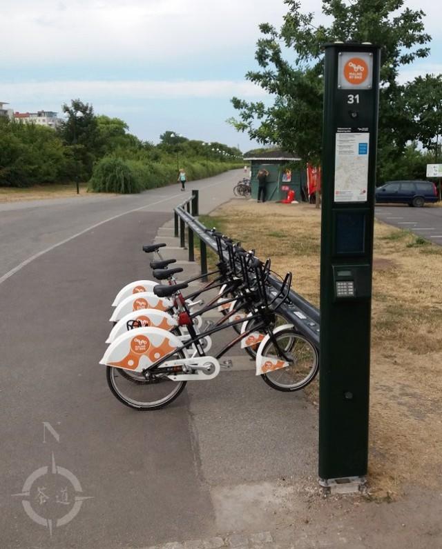 Parklife - ribban bike dock