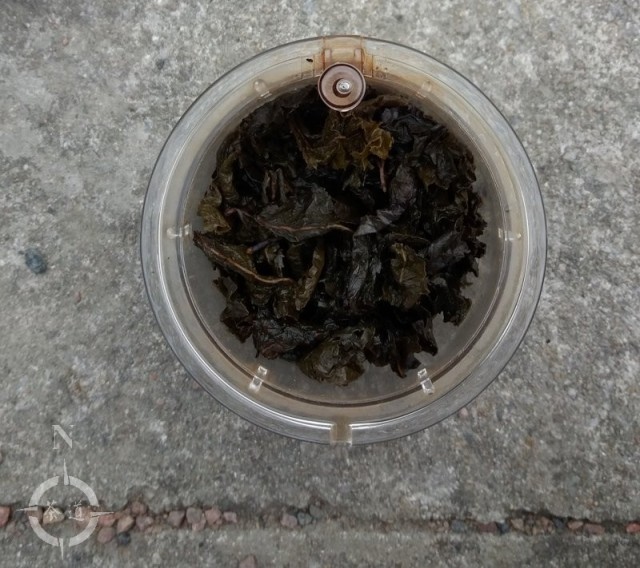 Parklife - Tie Guan Yin - used leaf
