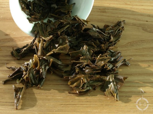 2012 Xiaguan FT Taiwan no6 - used leaves
