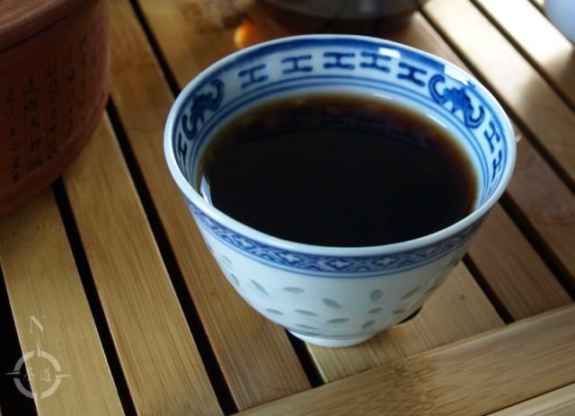 Malawi 2018 Leafy Ripe Dark Tea - a cup of
