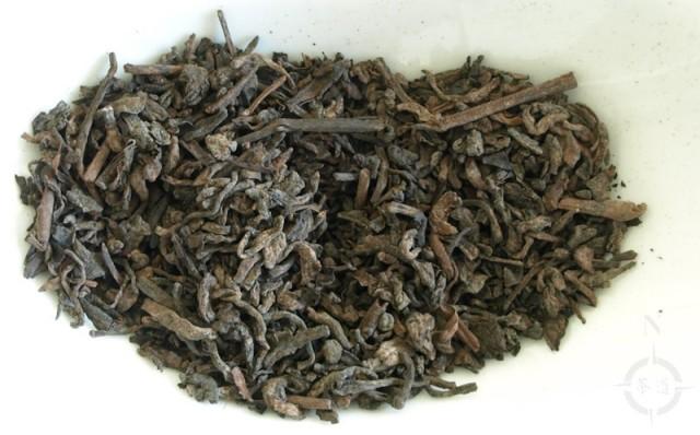 Malawi 2018 Leafy Ripe Dark Tea - dry leaves