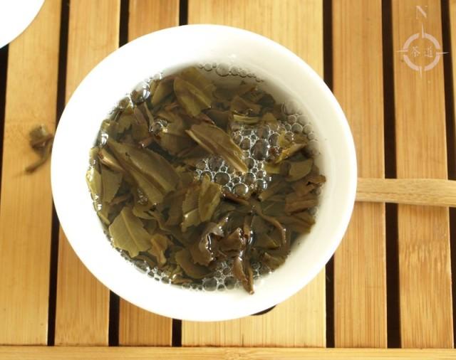 2015 Menghai Jia Ji Tuo - in gaiwan