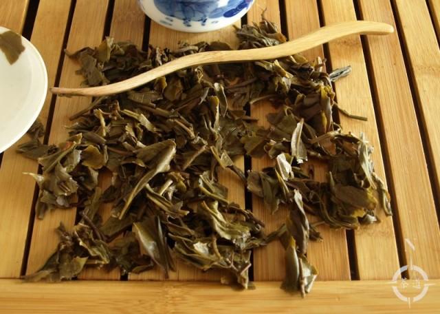 2015 Menghai Jia Ji Tuo - used leaves