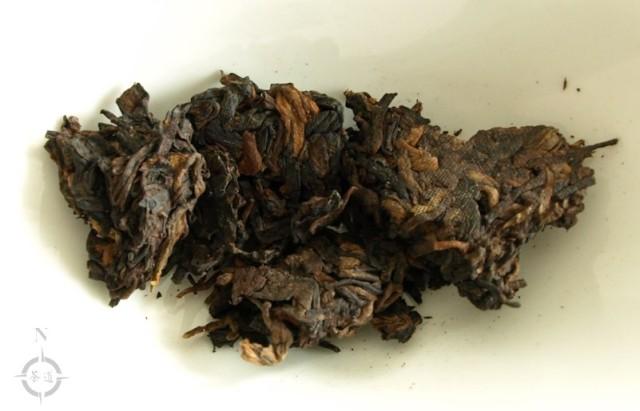 2017 Haiwan Sweet Aroma - dry leaf