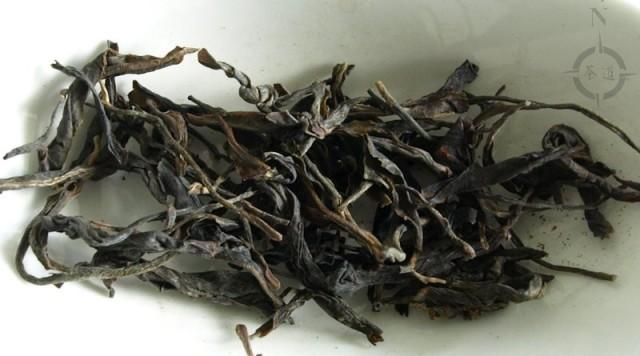 2017 Spring Gao Shan Da Shu - dry leaves
