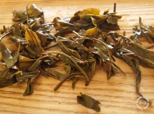2017 Spring Gao Shan Da Shu - used leaves