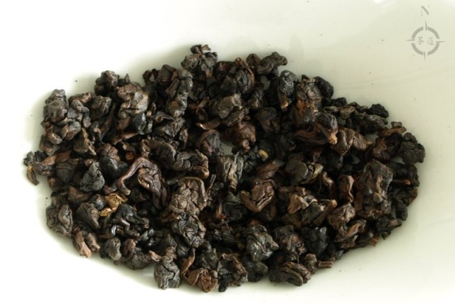 gaba oolong - dry leaves