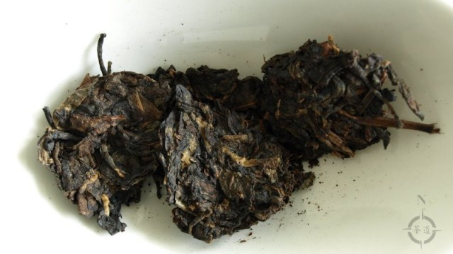 2007 Pin Xiang Bu Lang - dry leaves