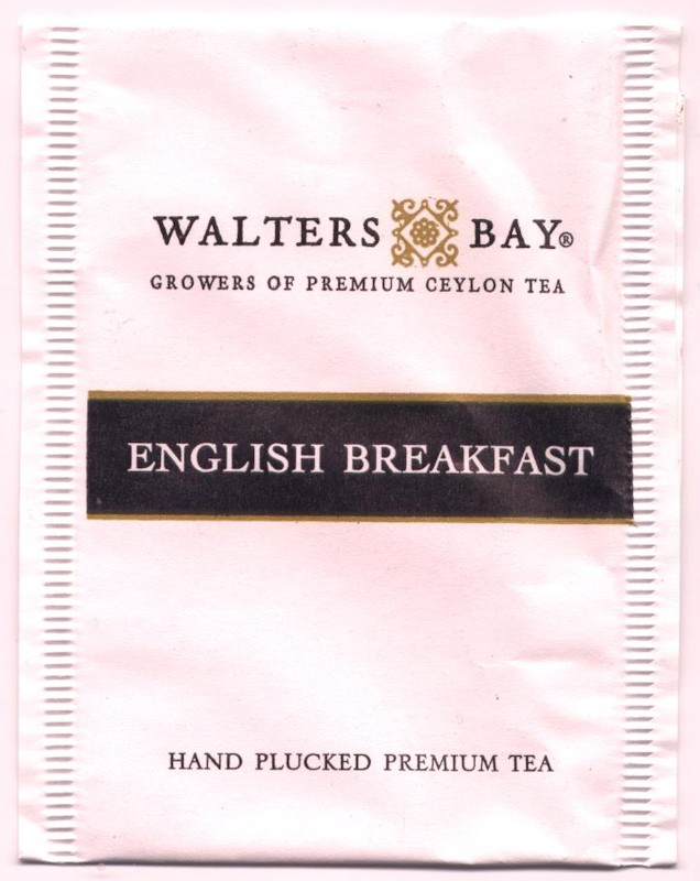 English breakfast tea bag