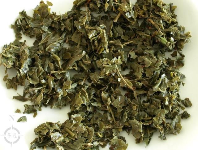 Irma Chinese Sencha - used leaves