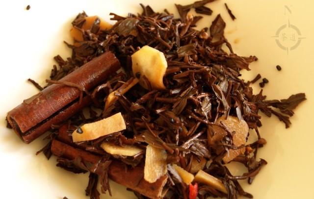masala chai used leaves