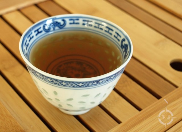 oolong yabukita - a cup of