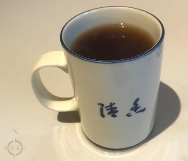 new travelling setup - finished tea