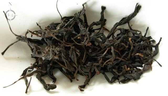 Shan Lin Shi Hong Cha - dry leaves