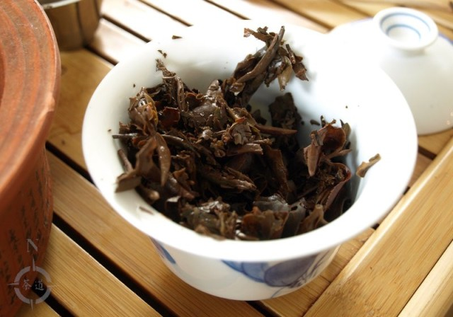 Vietnam Moc Chau Oolong - used leaf