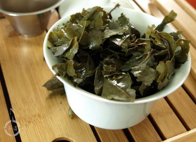 Tie Guan Yin Gang De Topgrade - used leaf