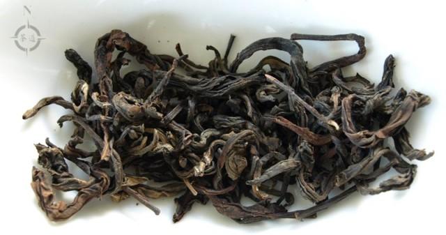 Vietnam Suoi Giang Black Wild Tea - dry leaf