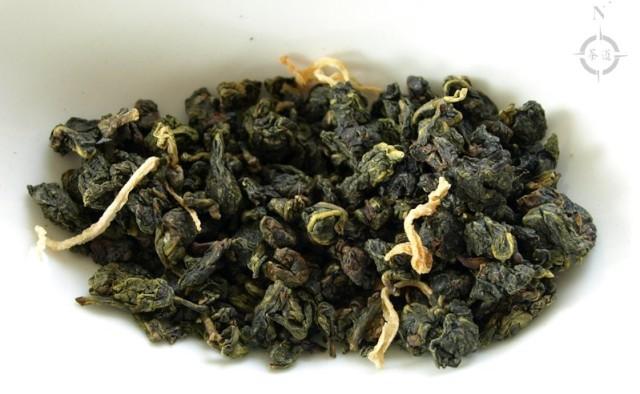 Bergamot Oolong - dry leaf