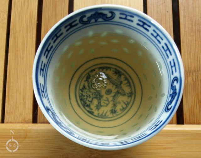 Jasmin Tai Mu Long Zhu - a cup of