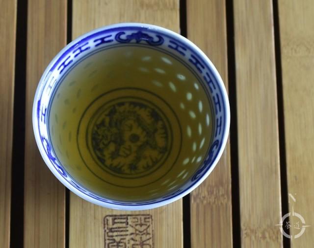Ren Shen Oolong - a cup of