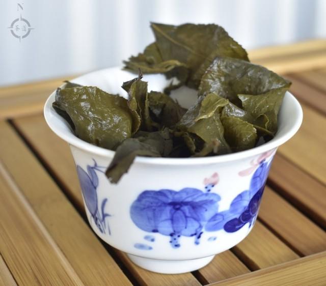 Ren Shen Oolong - used leaf