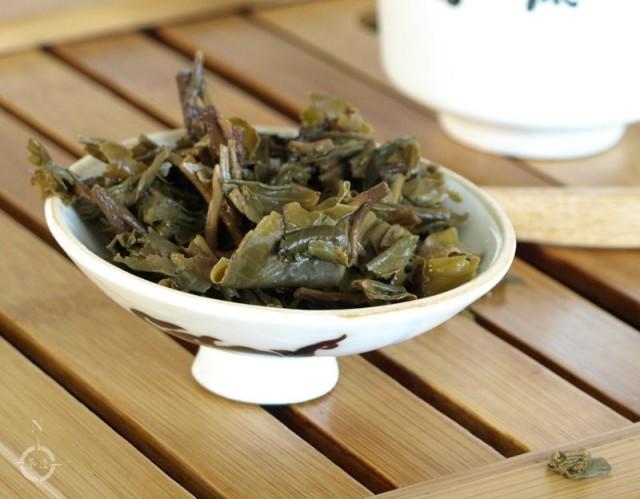Simply Tea Da Shan Tian - used leaf
