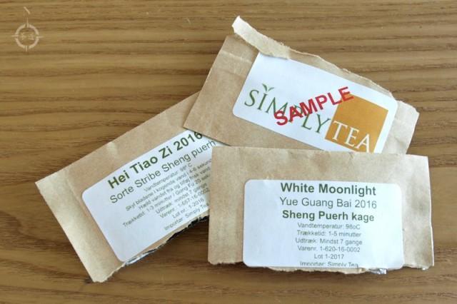 Simply Tea - samples