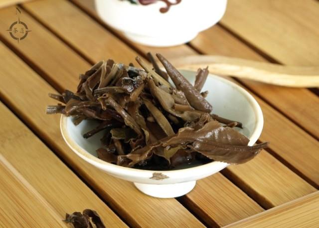 Simply Tea Moonlight White - used leaf