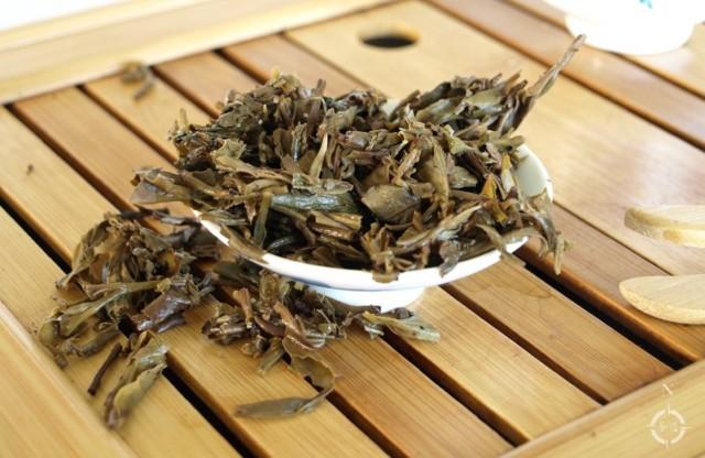 2014 Jing Gu Sheng Tou - used leaf
