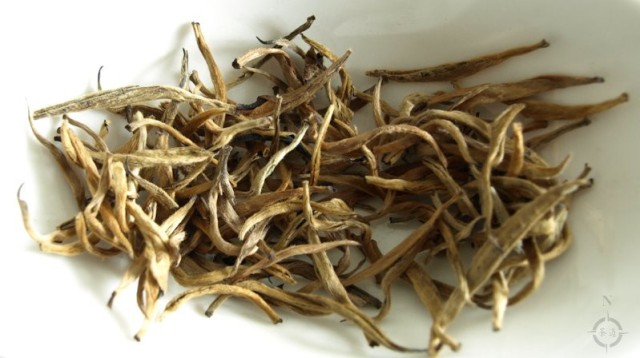 Kenya Golden Needle - dry leaf