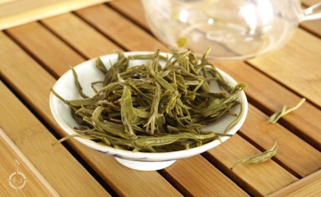Mo Gan Huang Ya - used leaf