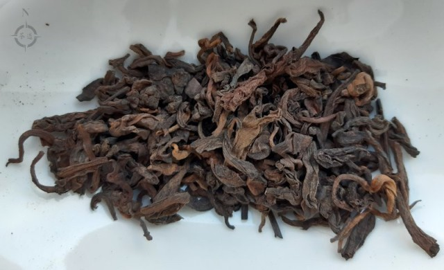 2008 Jia Cang Shu Puerh - dry leaf