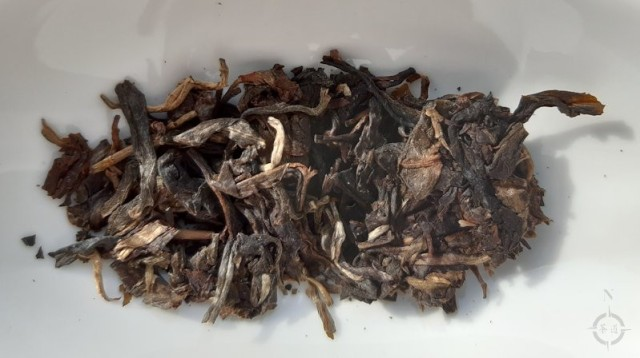 2010 Yi Wu Hai Lang Hao Wild Arbor Sheng - dry leaf