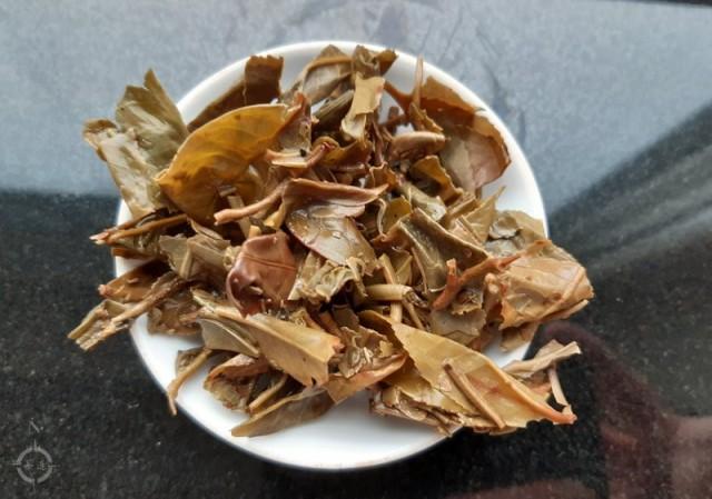 2010 Yi Wu Hai Lang Hao Wild Arbor Sheng - used leaves