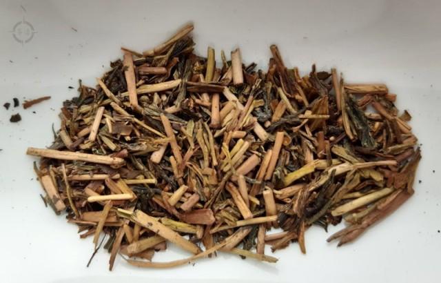 kuki hojicha - dry leaf