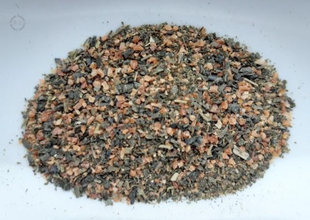 YMY genmaicha teabag - dry leaf