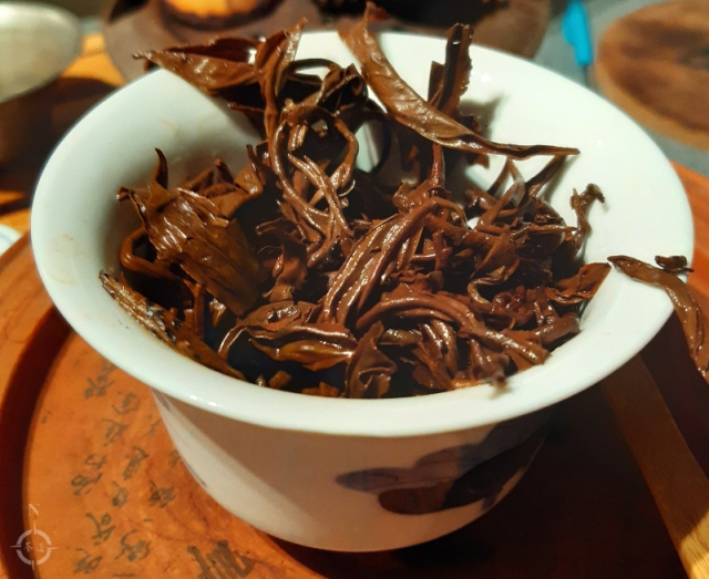 Yunnan downy pekoe - used leaves
