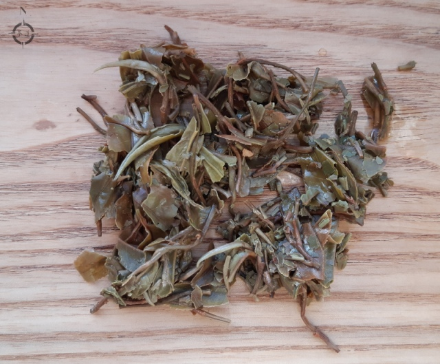Singbulli Oolong - used leaves