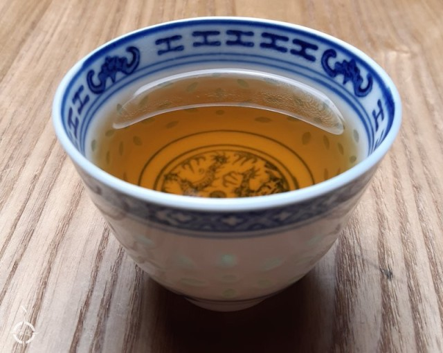 2009 aged pressed oolong - a cup of