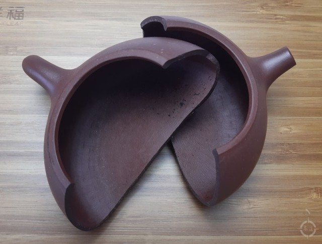 inverse present - broken pot