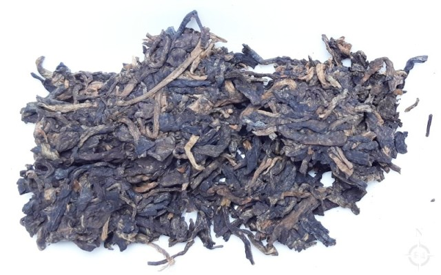 2015 bu lang shou - dry leaf