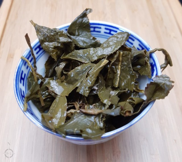Alishan roasted - used leaves