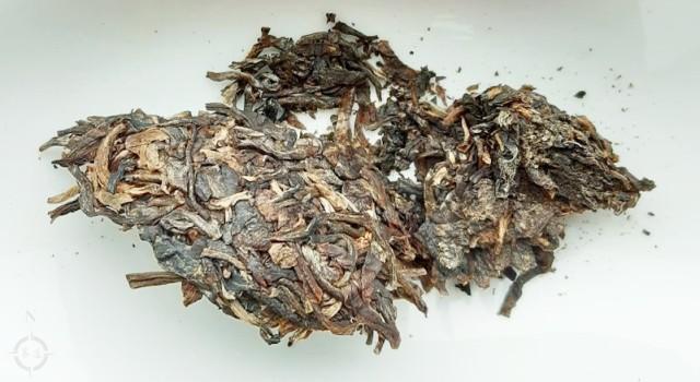 2009 Xia Guan Jia Ji Raw - dry leaf