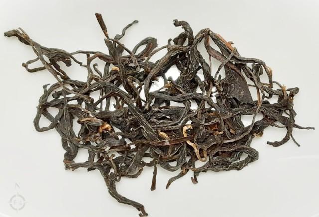 wan shan ping lin - dry leaf