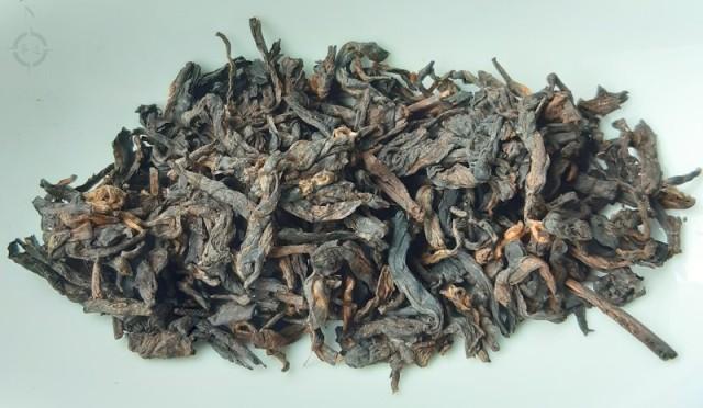 2011 nan nuo shou - dry leaf