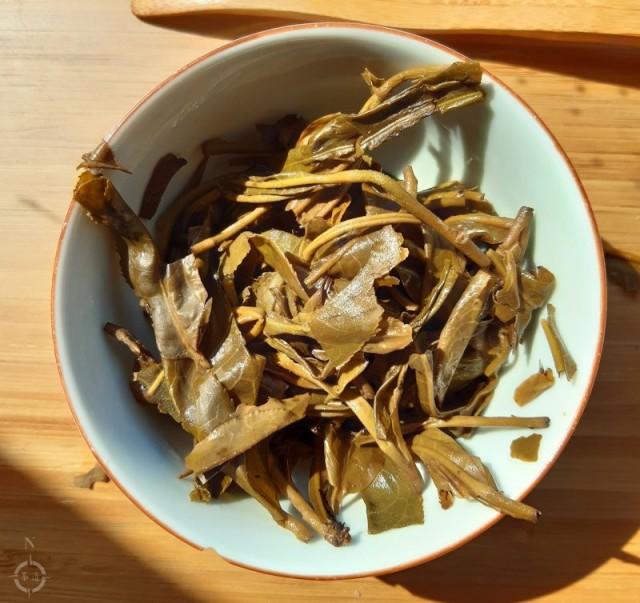 Farmer Leaf Spring 2019 Jingmai Miyun - used leaves